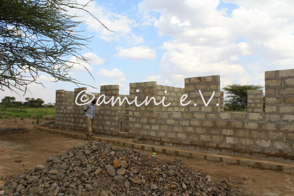 Baustellenbesuch Frühjahr 2015
