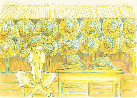 (麦わら帽子屋。) 0607