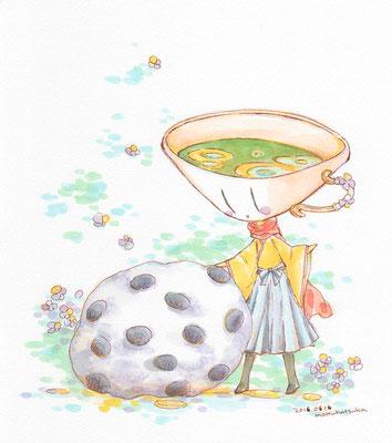 梅雨にもちもち。 (和菓子の日と聞いて) 0616