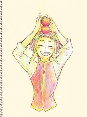 (キミとりんごと) アルヘートは陽のヒトだなっていう。