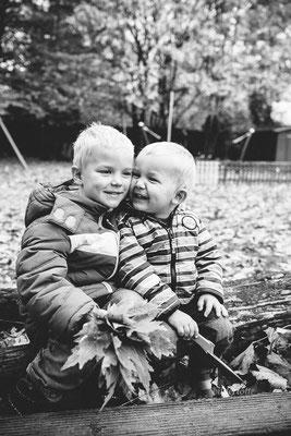 Geschwisterfotos Kindergarten