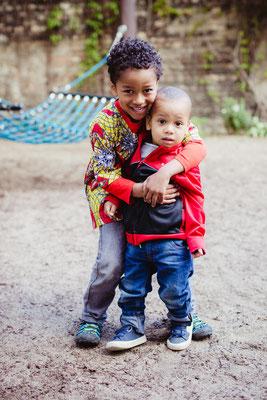 Kindergartenfotograf Geschwister