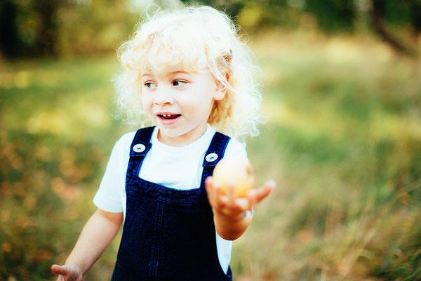 Mädchen Portrait Kindergarten