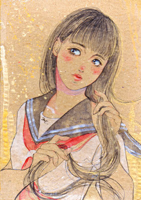校則違反の彼女/ 2017年/ 個人蔵