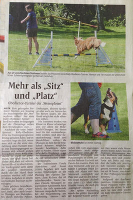 Artikel aus der Ahlener Zeitung