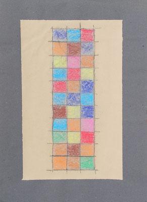 pastels secs 34,5x50cm 2014