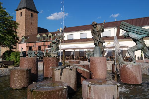 """Stickelspitzerbrunnen, Ristorante """"Vivere"""""""