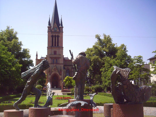 Stickelspitzerbrunnen, Kath. Kirche