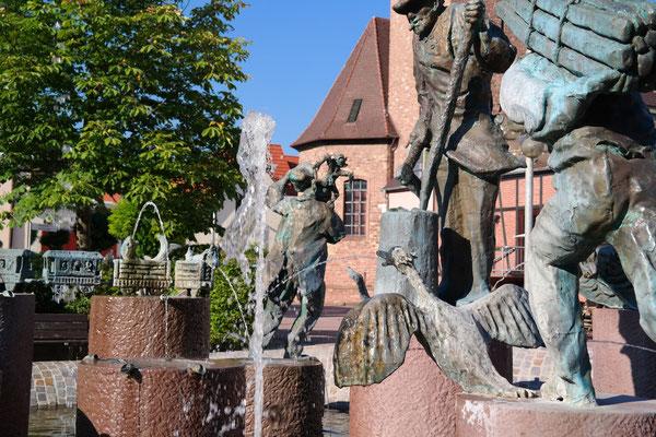Stickelspitzerbrunne, Remigiushaus