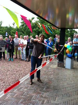 Gerda Oskam, Opening vernieuwde winkel in Haarzuilens, Tess huisje