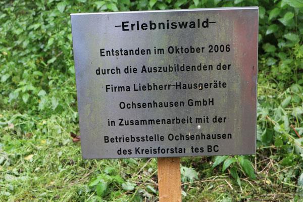 Zugang zum Erlebniswald