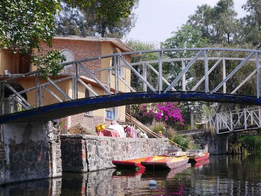 Barrio Xochimilco, canaux