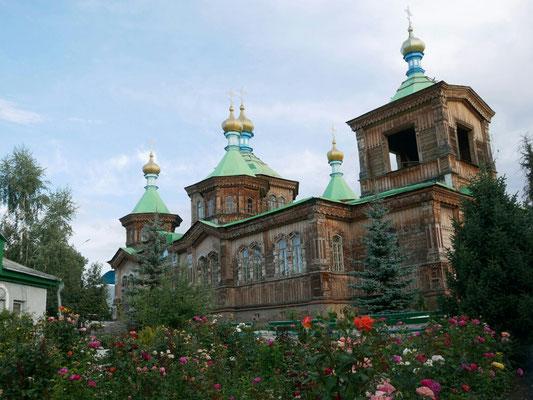 Eglise orthodoxe, Karakol city