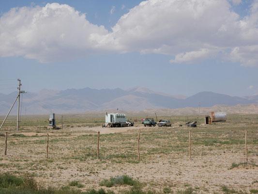 C'est le désert