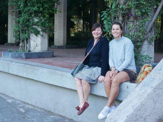 Yo y mamá, barrio Condesa