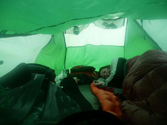 A quoi ça ressemble la tente...