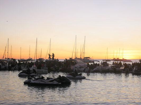 Fiesta sur l'eau à la Grande Anse d'Arlet