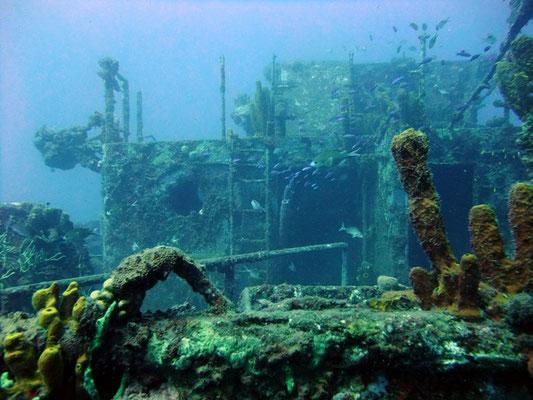 Photo internet donnant un aperçu de la plongée sur l'épave Franjack
