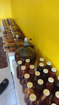 La collection de rhum arrangé du voisin