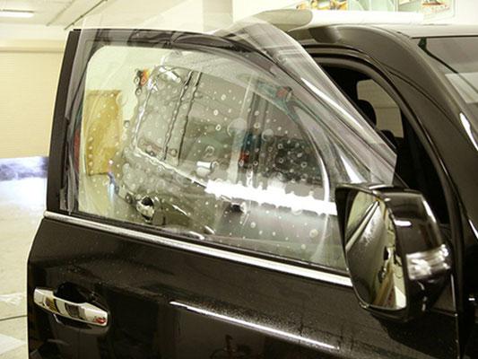 Бронирование боковых стекол