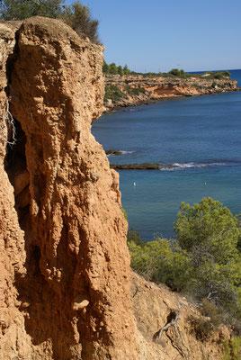 Küste bei Cap Roig L'Ampolla