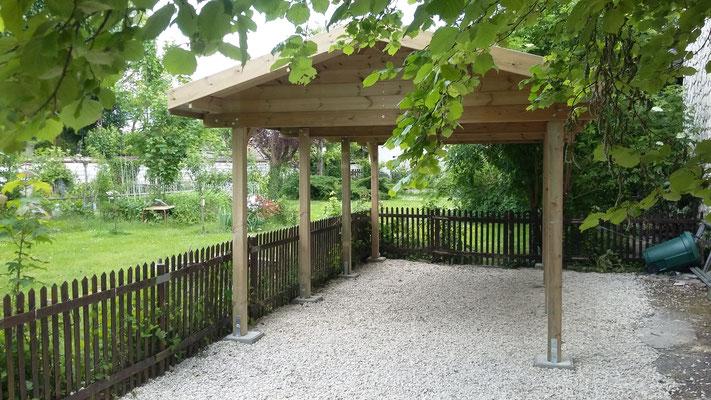 Sarl LAMMERS , portails, pergolas, abris de jardin, auvents ...