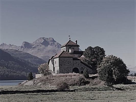 Schloss Silvaplana bei St. Moritz/Foto L.Moulin-Gallego