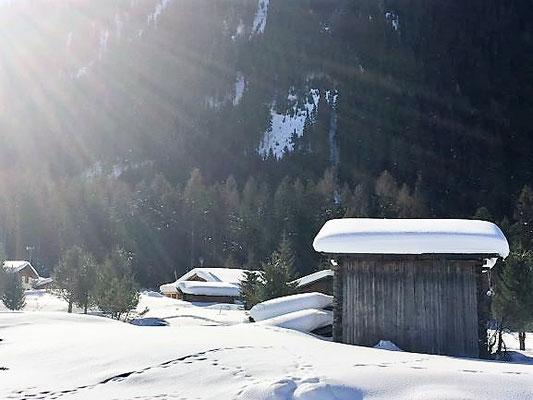 Winterliche Stille, Davos, Foto L. Moulin-Gallego