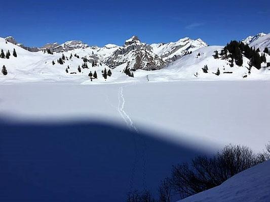 Schöne verschneite Landschaft, Engelberg/Foto L. Moulin-Gallego
