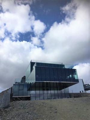 Das glasige Restaurant Ice Q, Sölden/Foto Lucia Moulin-Gallego