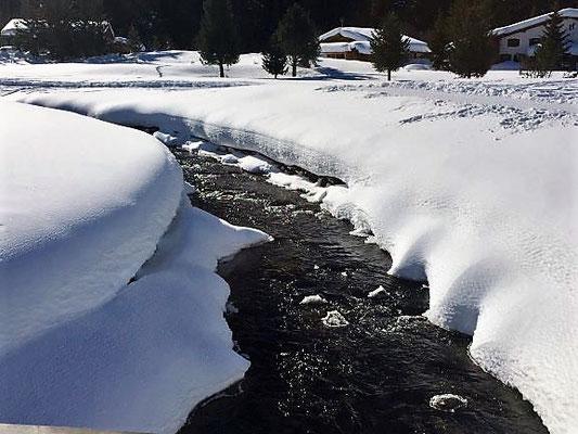Fluss, Davos, Foto L. Moulin-Gallego