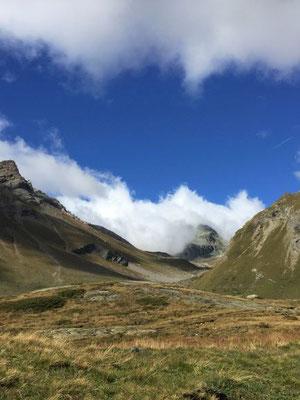 Unterwegs in den Bergen rund um Sils Maria/Foto L.Moulin-Gallego