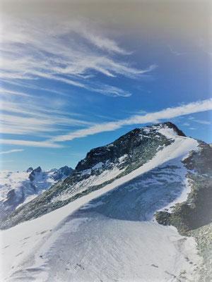 Auf dem Corvatsch oben/Foto L.Moulin-Gallego