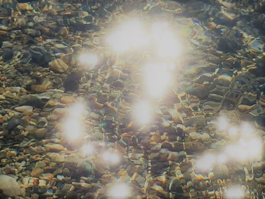 Lichtspiele im See bei Sils Maria/Foto L.Moulin-Gallego