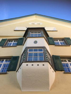 Typisches Haus in Sils Maria/Foto L.Moulin-Gallego