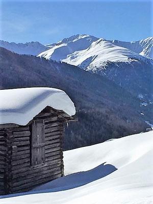 Einsames Haus, Davos, Foto L. Moulin-Gallego