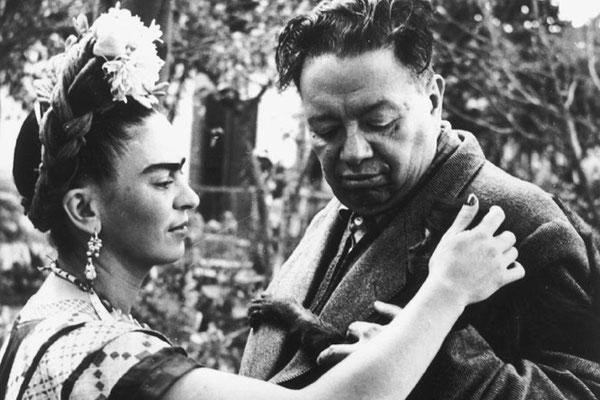 Frida Kahlo, 1907-1954. Mit Diego Rivera