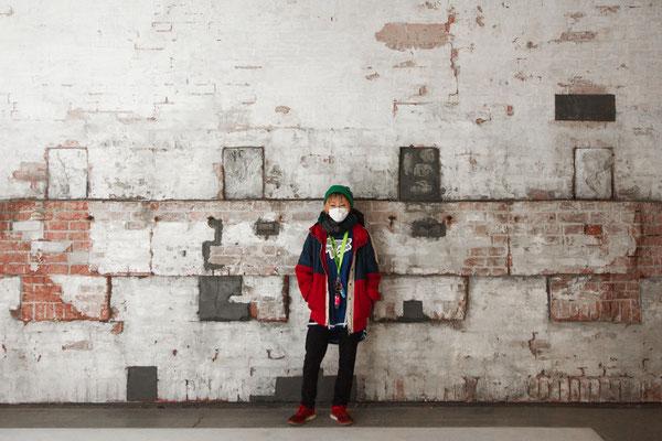 【Studio A】白レンガ壁