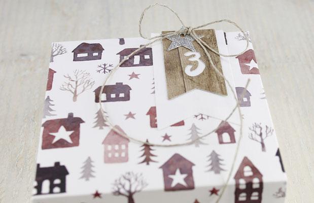 Adventskalender, Holz, Weihnachten, Geschenke