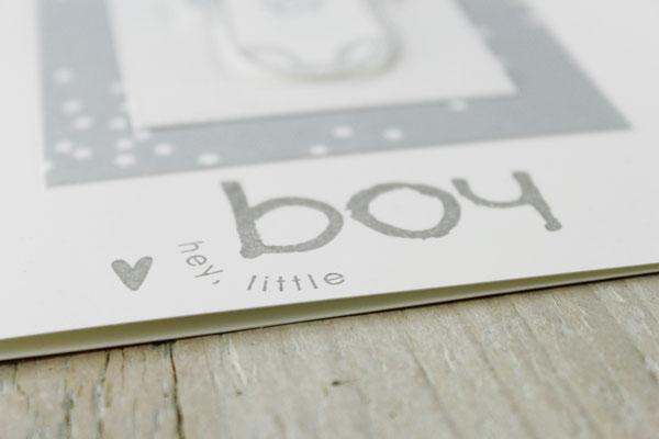 Babykarte, Geschenk, Karte zur Geburt