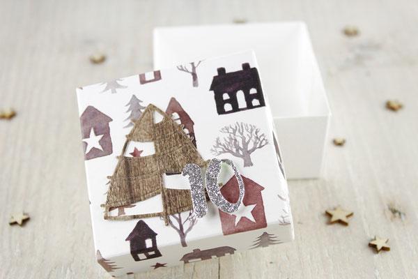Box, Adventskalender, Weihnachten, Tannenbaum