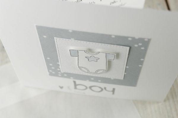 Babykarte, Karte zur Geburt, Babygeschenk
