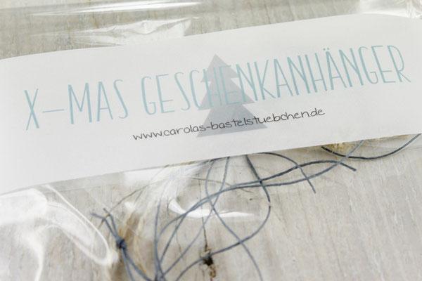 Geschenkanhänger, Deko, Geschenke verpacken
