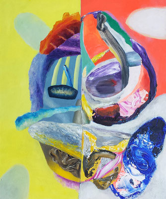 Joker II  Acryl/Lwd. je 80 x 95 cm 2018