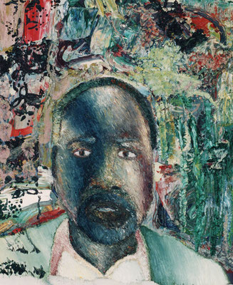 Porträt von EL.  Öl/Lwd  50 x 60cm  1991