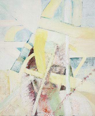 Porträt von D.  Öl/Lwd  50 x 60cm  1991