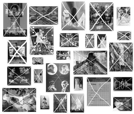 Verlockung 26-teilig Foto 200 x 250 cm 2014