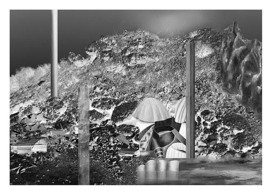 Behausung Diasec 116 x 86 cm 2014