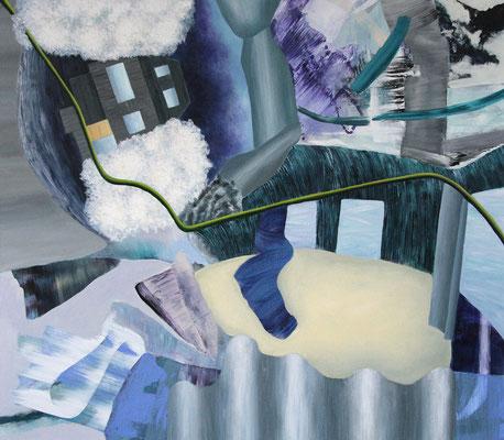 Territorien 3  Acryl / Lwd. 155 x 135 cm 2012