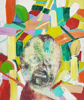 Porträt von J.  Öl/Lwd  50 x 60cm  1992